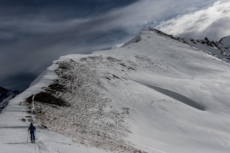 Berghütte für skitourengeher